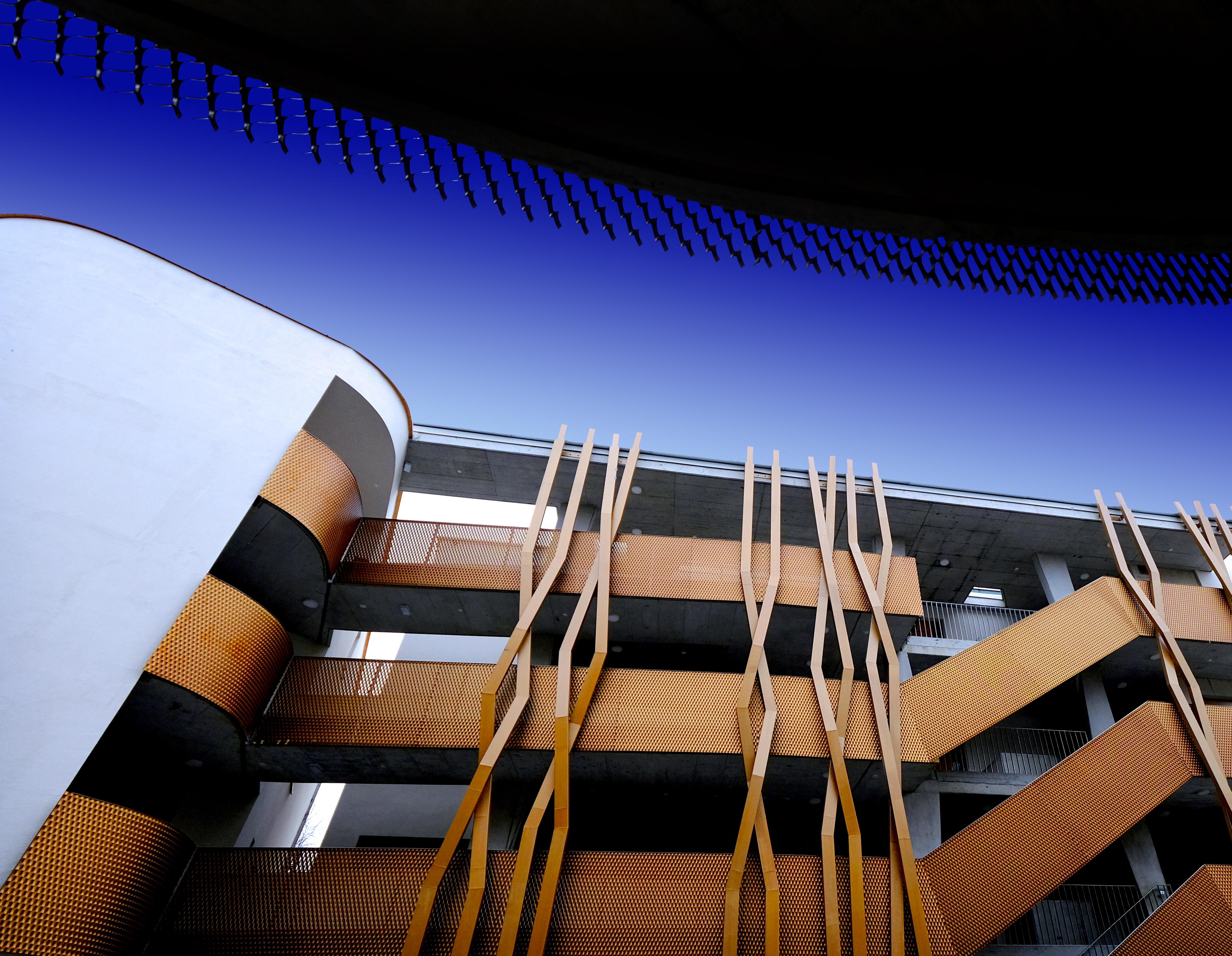 Architektur mit Inspirationsquelle Thema STRICK